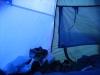 Na barraca