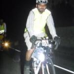 Durante o pedal